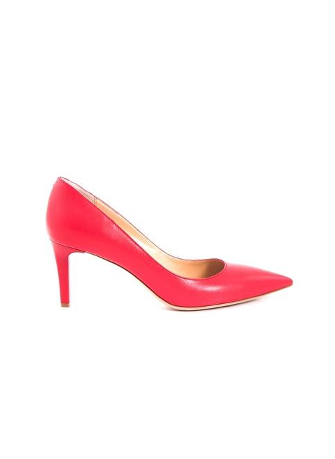 Tanca Topuklu Ayakkabı Kırmızı
